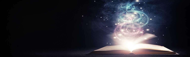open-glowing-book