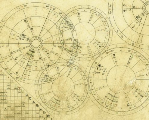 Real Astrology-Birth Horoscopes on Parchment