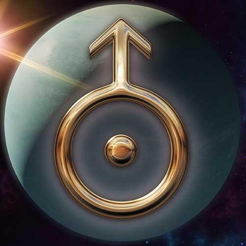 Uranus Zodiac Symbol