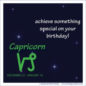 Birthday Greeting Capricorn