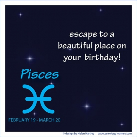 Birthday Greeting Pisces