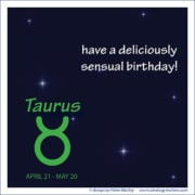 Birthday Greeting 02 - Taurus