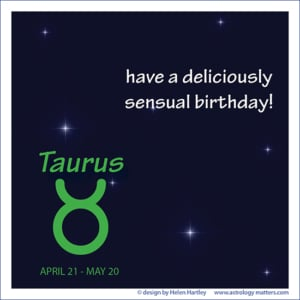 Birthday Greeting Taurus