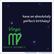 Birthday Greeting Virgo