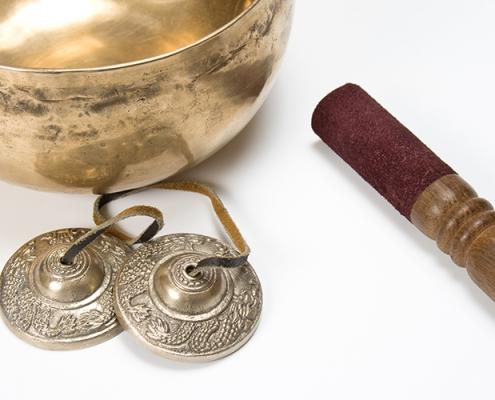 Chinese New Year Singing bowl and Tibetan