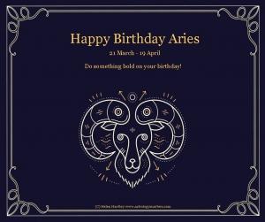 Aries Birthday 2021