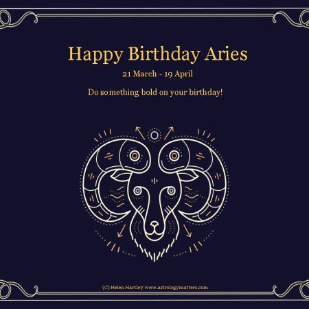 Aries Birthday 2021