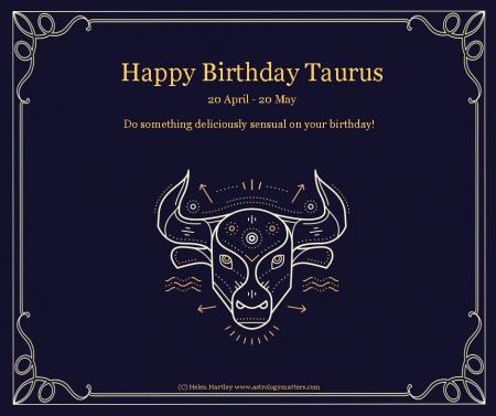 Taurus Birthday 2021