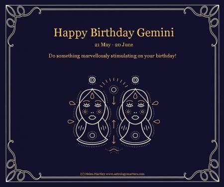 Gemini Birthday 2021