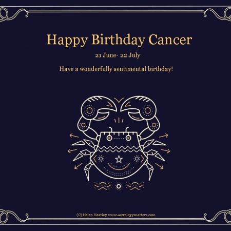 Cancer Birthday 2021