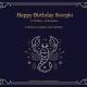 Scorpio Birthday 2021